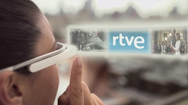TVE Glass, la primera app para ver TV en Google Glass