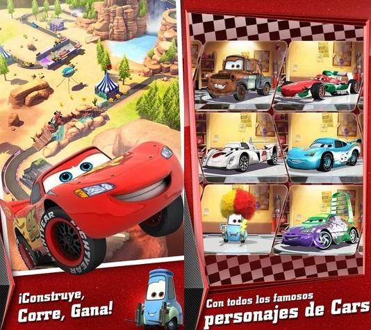 Cars Rápidos como el Rayo, el nuevo juego de Gameloft disponible ya para Android