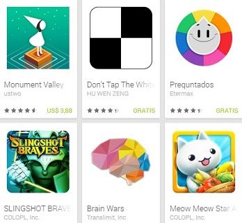 Los mejores juegos Android del 2014 según Google Play