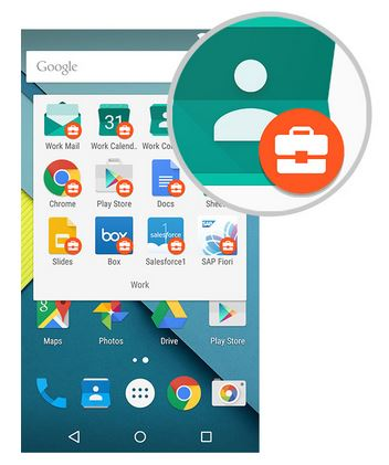 Android for Work -