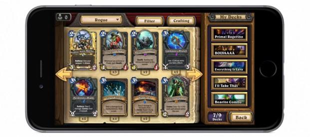 Hearthstone Heroes of Warcraft ahora también disponible para teléfonos Android