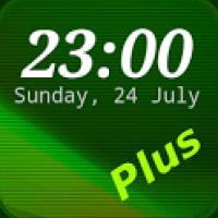 DIGI Clock Widget Plus